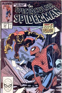 THE SPECTACULAR SPIDER-MAN nº154